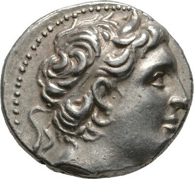 Lanz Kings Macedon Demetrios Poliorketes Tetradrachm Pella Silver Greek §edu2523