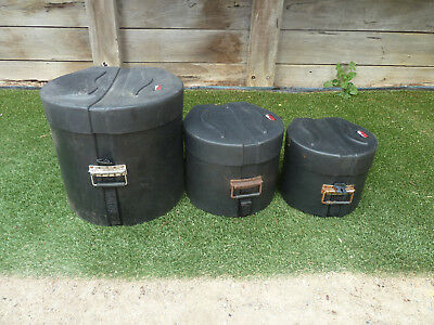 Gator drum cases set, Item 242, Pick up Lanwarrin