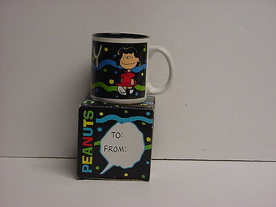 Vintage Lucy Ceramic Mug Peanuts by Accents NIB Dated 1994 Original Box