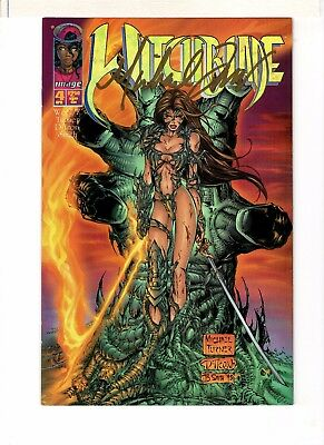 Witchblade #4 Signed Michael Turner 7.5 Very Fine-