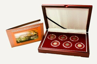 Collector Box of 6 Ancient Judaean Coins 134 BC to 70 AD **FREE SHIPPING**