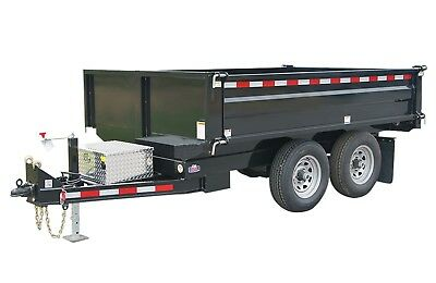 Dump Trailer Plans DIY Bumper Pull 45 Degree Tipping Angle 10'x6' Build Your Own