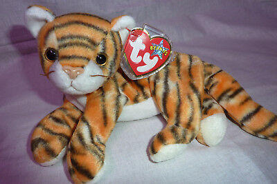 """Ty beanie baby tiger  Tieger  """" India """"  2000"""