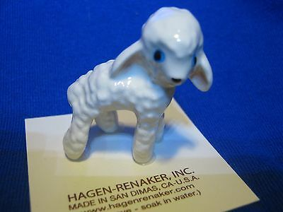 Hagen Renaker Wooley Lamb Figurine Miniature 0351 FREE SHIPPING NEW