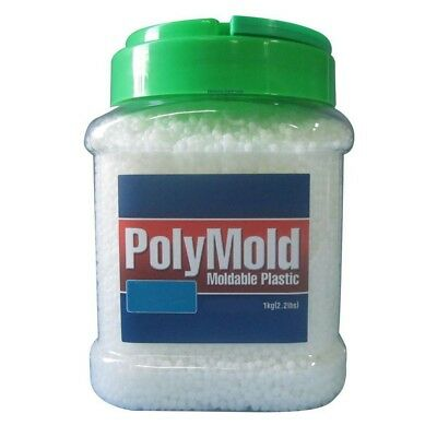 PolyMold Moldable Plastic, Colorant Green Red Yellow Black Blue, 8.8, 17.6, 35.2