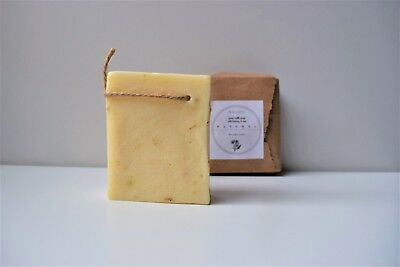 Honey & Goat Milk Soap With Shea Butter & Coconut Oil 100% Natural