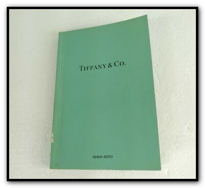 1969-1970 TIFFANY & Co. BLUE BOOK COLLECTION CATALOG JEWELRY WATCH SILVER GOLD +