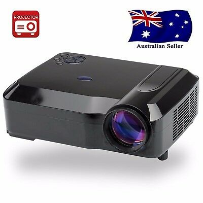 3800 Lumens LED Projector - 5.8 Inch LCD Panel, 2000:1      AUS SELLER FAST POST