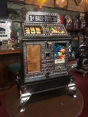 "1927 Caille FORTUNE BALL Gum Ball Trade Stimulator  ""WATCH VIDEO"""