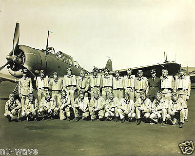 World War 2 Squadron-VJ-7 Douglas-SBD Dauntless-1939-1945