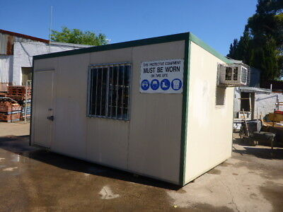 4.8 x 3.0 Metre Insulated Site Shed / Site Hut / Portable Building / Granny Flat