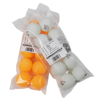 10Pcs/Bag 3 Star 40mm Olympic Table Tennis Balls Ping Pong Balls White/Yellow