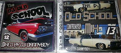 OLD SCHOOL MIX volume 12 and 13 rare old school music funk NEW 2 CDS