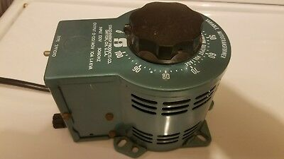 Staco Type 2PF 1010 Variable AutoTransformer - 0-120  10A/0-140AC 1.4KVA