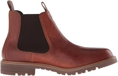 b6b6d5d8a6c COLE HAAN MENS GRANTLAND Leather Round Toe Ankle Chelsea Boots ...