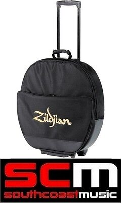 Zildjian Deluxe Cymbal Rollerbag Roller Bag Trolley wiith Wheels Protective Case