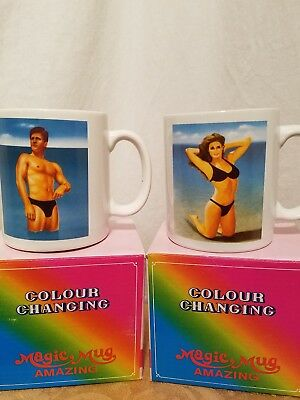Heat Changing Nude Magic Coffee Mug Heat Sensitive Porcelain Tea Cup
