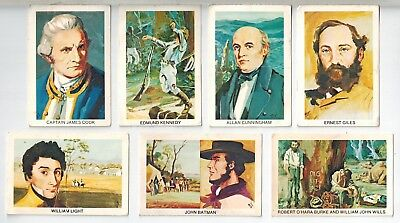 Tip Top Bread - Sunblest Explorer Cards - Collector Cards (7)