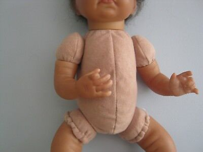 "Reborn Doll Bodies 10"" 3/4 arms full side leg- Doe Suede (suit Bryon/Emma/Claire"