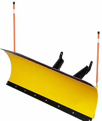 66 inch DENALI Pro UTV Snow Plow Kit in YELLOW - 2014-2017 Honda Pioneer 700