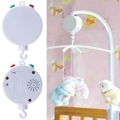 35 Song Rotary Child Mobile Cot Bed Toy Battery Powered Music Box Newborn BellC3