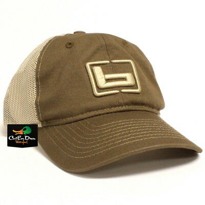 c3ae2a1d807 New Banded Gear Chino Twill Mesh Back Trucker Cap Hat Olive W  Logo  Adjustable