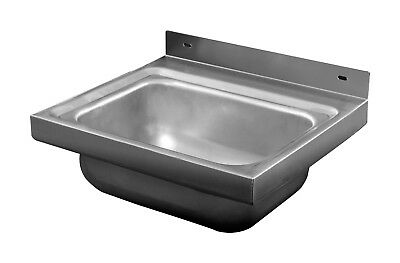 Stainless Steel Wall Mounted Sink Handbasin- L430xD380mm Melbourne
