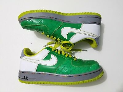 hot sale online 2f5be 16c9e AF1 2007 Nike Air Force 1 One XXV US 8 South Bronx Green Lime Mens Womens