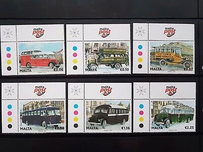 Malta stamps Malta Buses End of an era and Postal Vehicles & Colonial