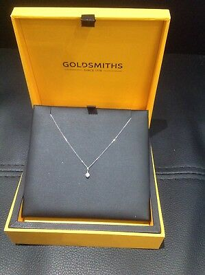 Stunning Diamond Necklace With Certificate