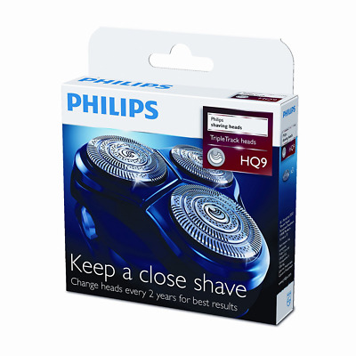 Philips HQ9/50 Lot de 3 têtes de rasage Speed-XL 50 % de surface de rasage en +