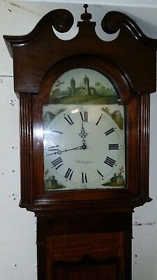 30hr Longcase clock in an oak case