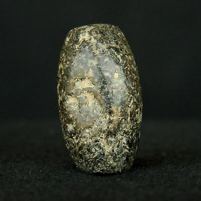 ANCIENT Serpentine BEAD 蛇纹岩 - 18 mm LONG - Saharian NEOLITHIC