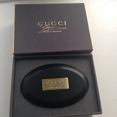 Gucci Made To Measure Clothes Brush New Boxed