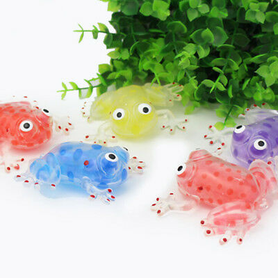 Mochi Clever Squishy Ball Anti Stress Squeeze Frog Ball Stress Relief Ball Toy