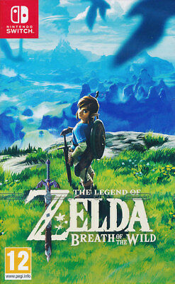 The Legend of Zelda Breath of the Wild Nintendo Switch - Brand New Sealed - PAL
