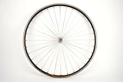 Radial spoked front Wheel with Mavic Open SUP CD clincher rim and Mavic 501 hub
