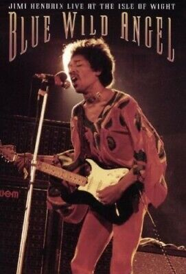 Jimi Hendrix: Blue Wild Angel - Live At The Isle Of Wight [DVD] -  CD QKVG The