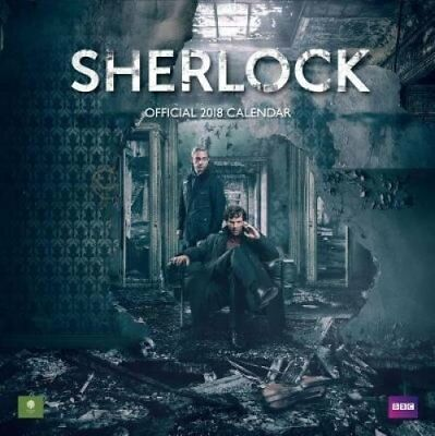 Sherlock Official 2018 Calendar - Square Wall Format 9781785493829