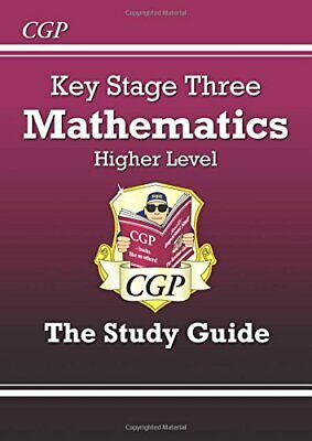 KS3 Maths Study Guide - Higher (CGP KS3 Maths) by Parsons, Richard Paperback The