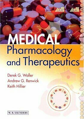Medical Pharmacology and Therapeutics by Hillier BSc  PhD  DSc Dr., Ke Paperback