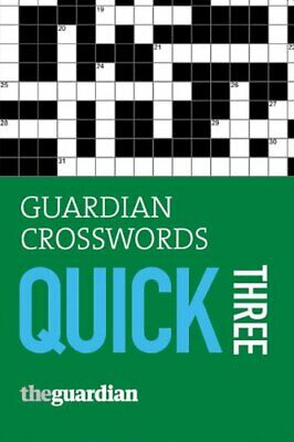 Guardian Crosswords: Quick Three by Stephenson, Hugh Paperback Book The Cheap