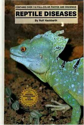 Reptiles' Diseases by Hackbath, Rolf Hardback Book The Cheap Fast Free Post