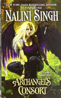 Archangel's Consort (Guild Hunter Novels) by Singh, Nalini Book The Cheap Fast