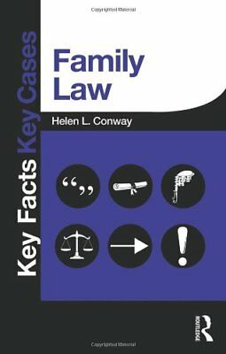 Family Law (Key Facts Key Cases) by Conway, Helen Book The Cheap Fast Free Post