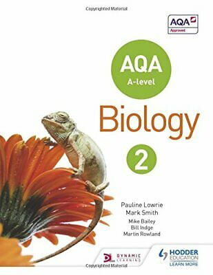 AQA A Level Biology Student Book 2 by Smith, Mark Book The Cheap Fast Free Post