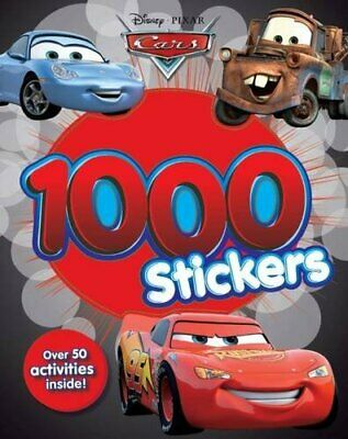 Disney Cars 1000 Stickers by Parragon Books Ltd Book The Cheap Fast Free Post