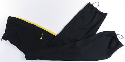 Nike Livestrong Dri-Fit Black & Yellow Athletic Pants Lance Armstrong Mens L