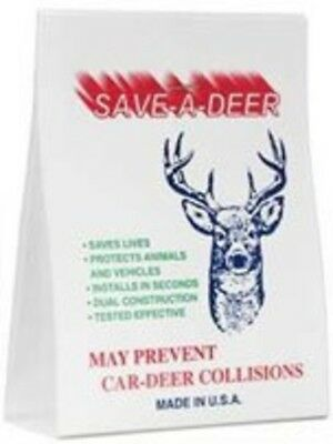 Save-A-Deer Whistle - The Best Single Unit Air-Activated Animal Alert/Automobile