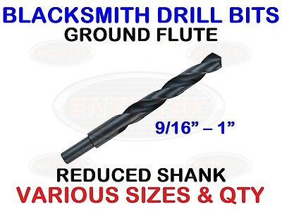 Blacksmith Reduced Shank Drills Hss Drill Bits - All Imperial Sizes!
